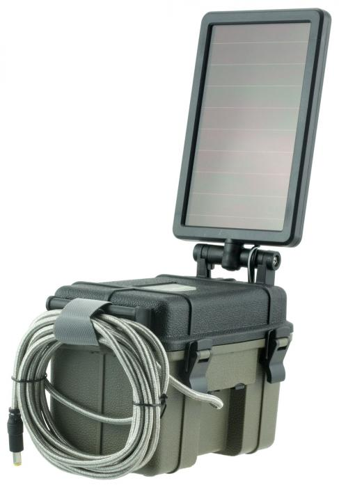 HME Hme12vbbslr Trail Camera Solar Panel/battery
