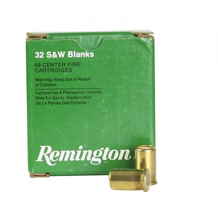 Remington Ammunition Centerfire Blank Blank 32