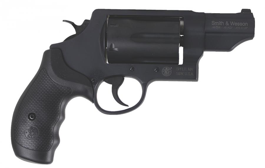 """S&W Governor 45acp/410lc 2.75"""" Blk 6rd"""