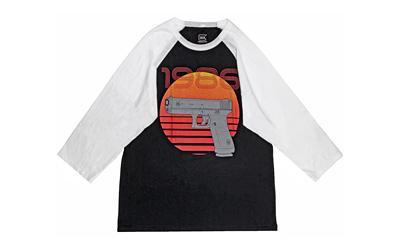 Glock Oem Retro 1986 Blk/wht 3x