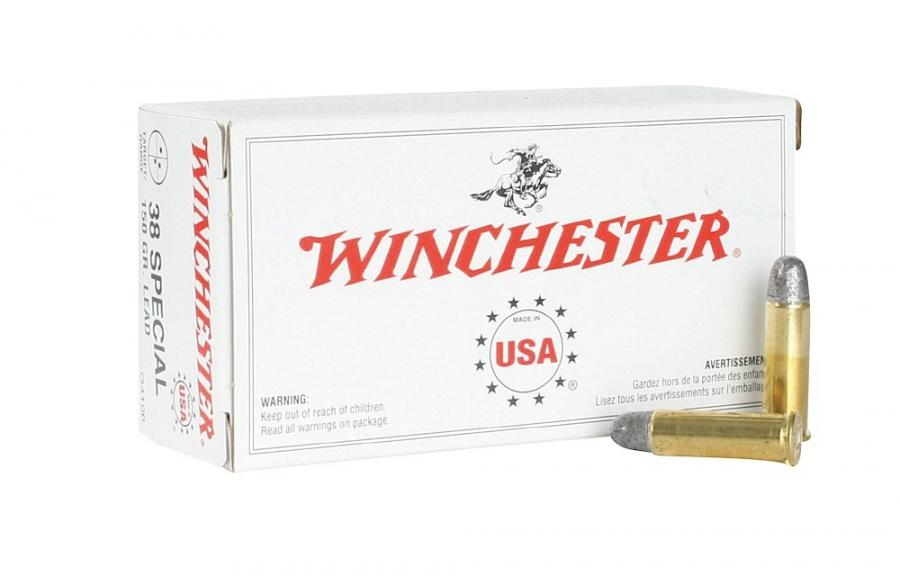 Winchester Ammo USA 38 Special Lead