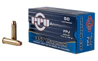 Ppu 357mag Fpj 158gr 50/500