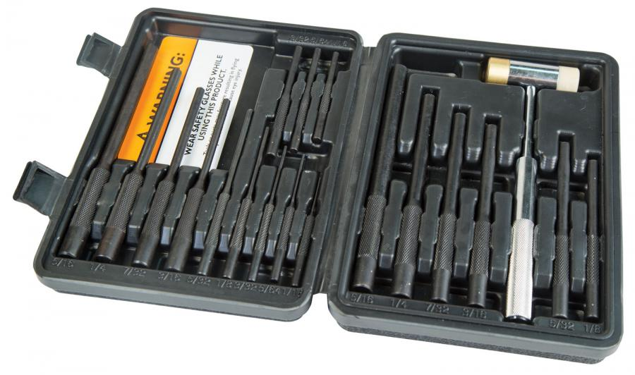 Whe Delta Roll Pin Punch Set