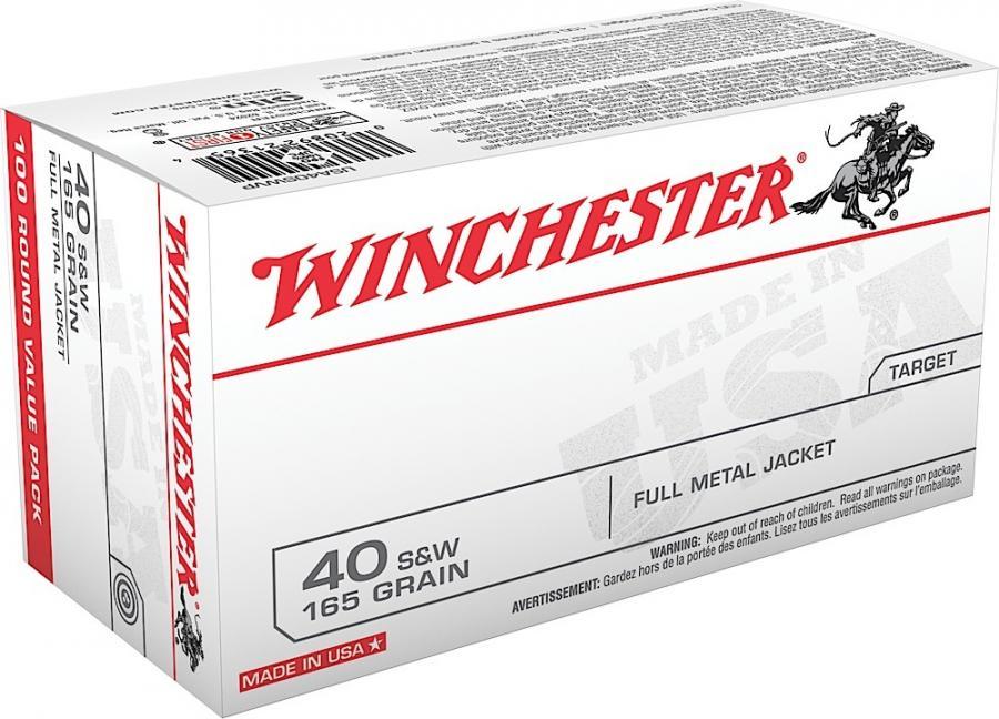 Winchester Ammo USA 40 S&W Full