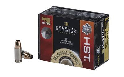 Federal HST 9mm 150gr Jhp 20rd