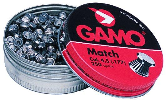 Gamo Flat Nose Pellets Match .177