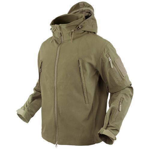 Summit Softshell Jacket , Tan ,