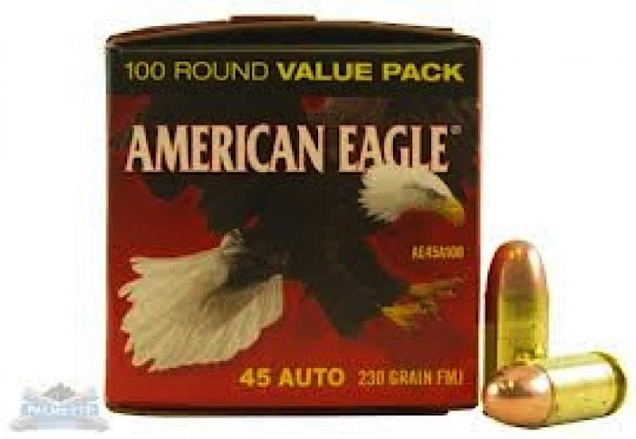 Federal American Eagle Standard 45 ACP | Borderline Shooting Sports