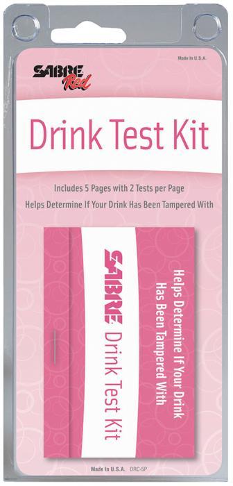 Sabre Date Rape Drug Detection Coasters