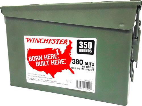 Win Ammo .380acp (case Of 2)
