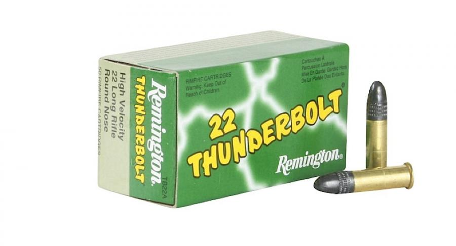 Remington Ammunition Thunderbolt 22 LR Round