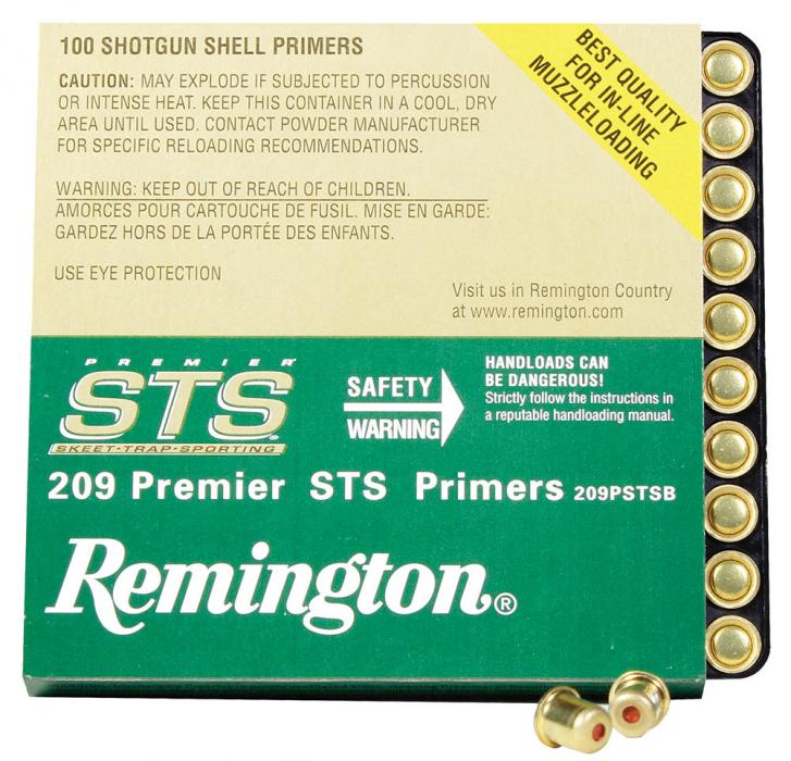 Remington Ammunition Kleanbore 209 Premier STS