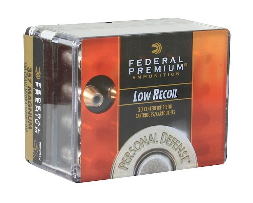 Federal Premium 357 Remington Mag Hydra-shok | US Defense Solutions