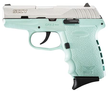 Sccy Cpx2ttsb 9MM 3.1 SS NMS