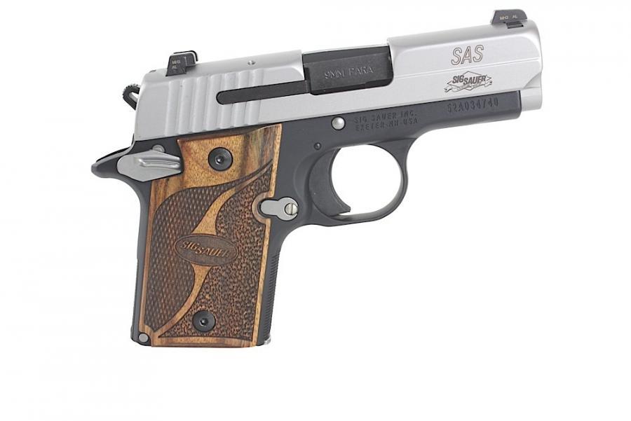 Sig P938 9mm Ambi 6rd 2TN