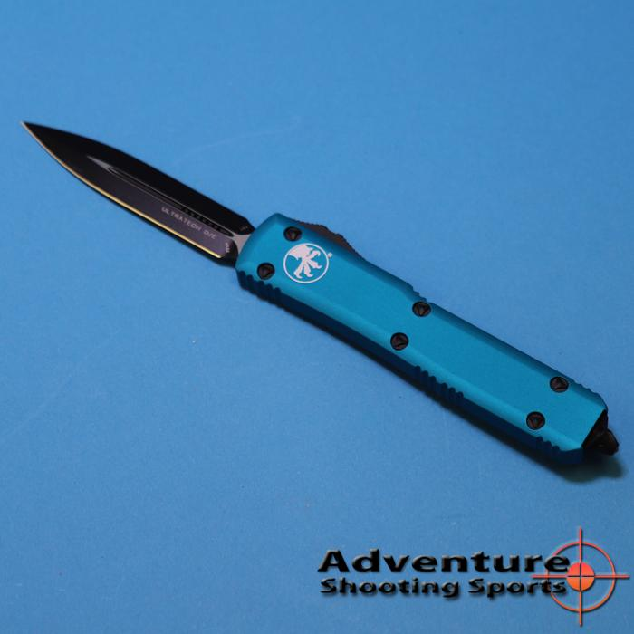 Microtech 122-1tq Ultratech D/E Turquoise