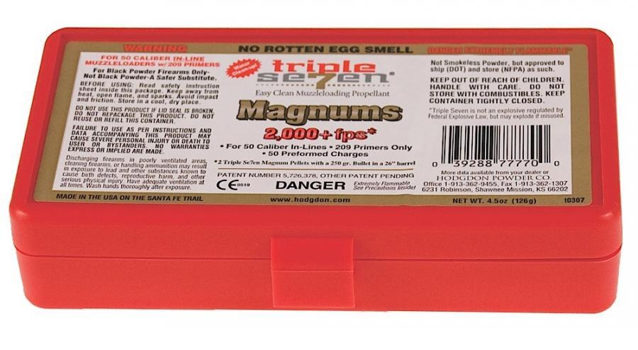 Hodgdon Triple Seven Magnum Pellets 50