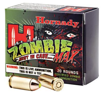 Hornady Zombie 45acp Zmax 185gr 20box