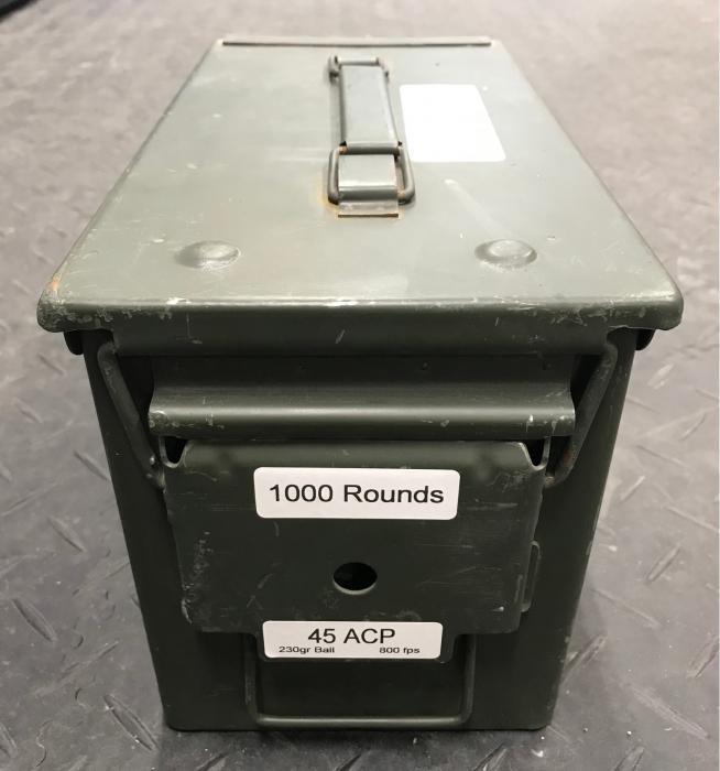 1000rds TGD Enterprises .45acp 230gr