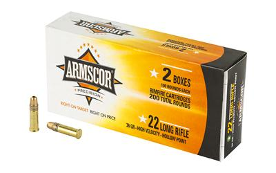 Armscor 22lr Hvhp 36gr 200/2200