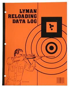 Lyman Reloaders Log Book