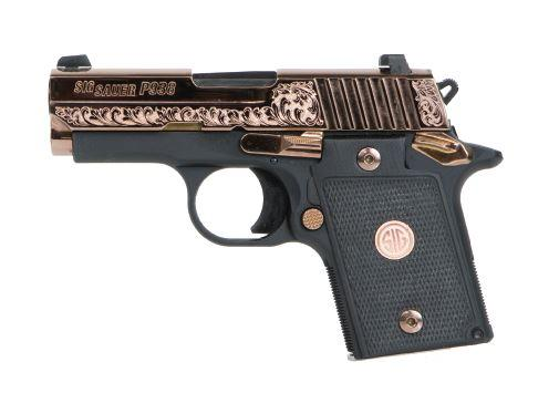 Sig P938 9mm Rose Gold Ambi