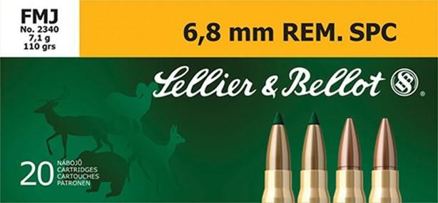 S&B 6.8 REM 110 FMJ 20/50