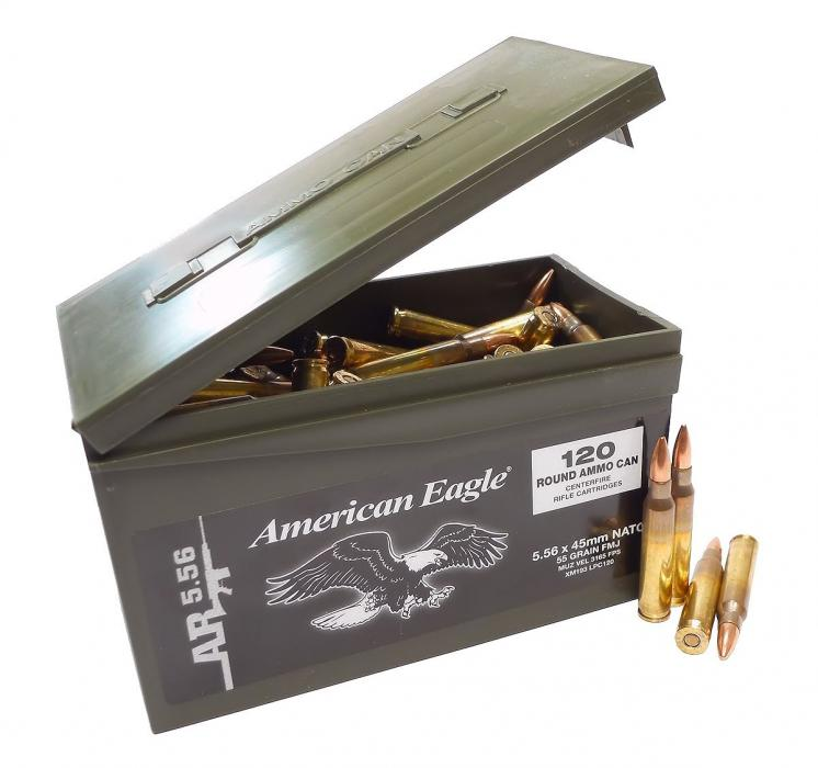 Federal Ammunition American Eagle 5.56x45mm 55gr