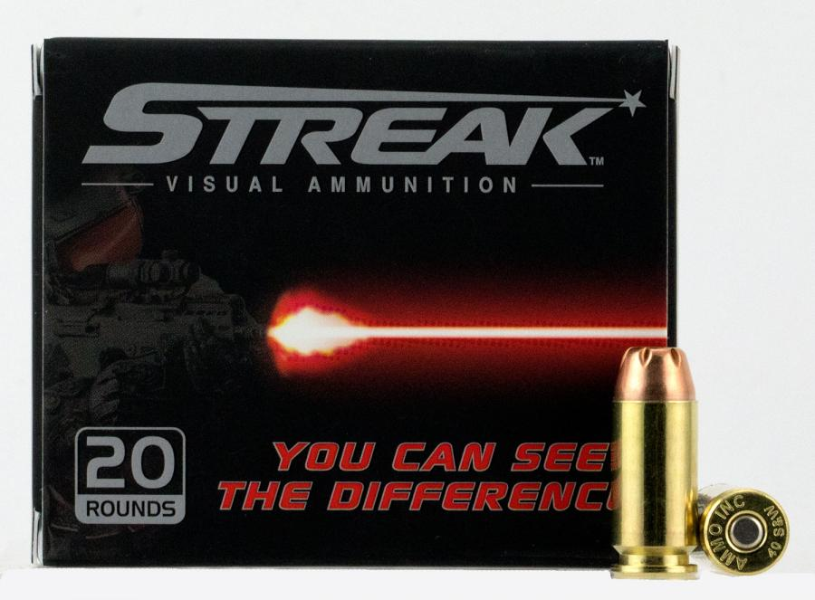 Ammo Inc 40180jhpstrk Streak Red 40