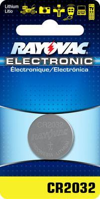 Rayovac Cr2032 Lithium Keyless Entry Battery