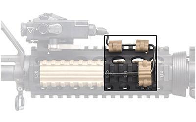 Manta 3pk Wire Clip Kit Fde