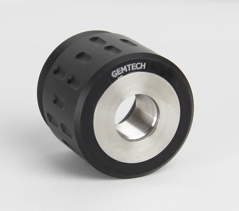 Gemtech Gm-45/blksd Threadmnt1/2x28
