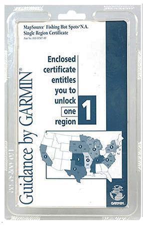 Garmin Single Certificate