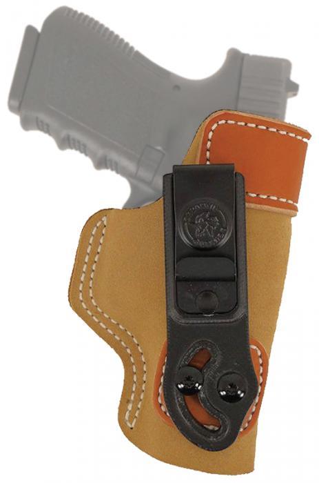 Desantis Gunhide Tan Saddle Leather/suede