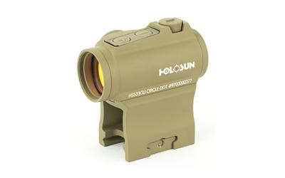 Holosun Dual Reticles Side Btry Fde