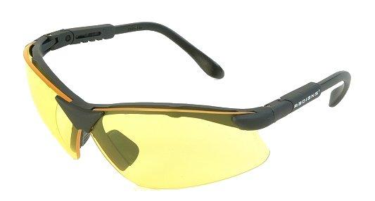 Radians Buckshot II Shooting/sporting Glasses Yellow