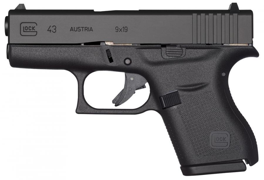 "Glock G43 9mm 3.39"" BBL 6-rd"