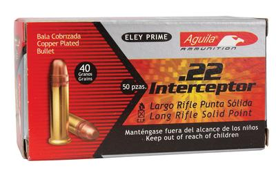 40gr Eley Prime .22 Interceptor
