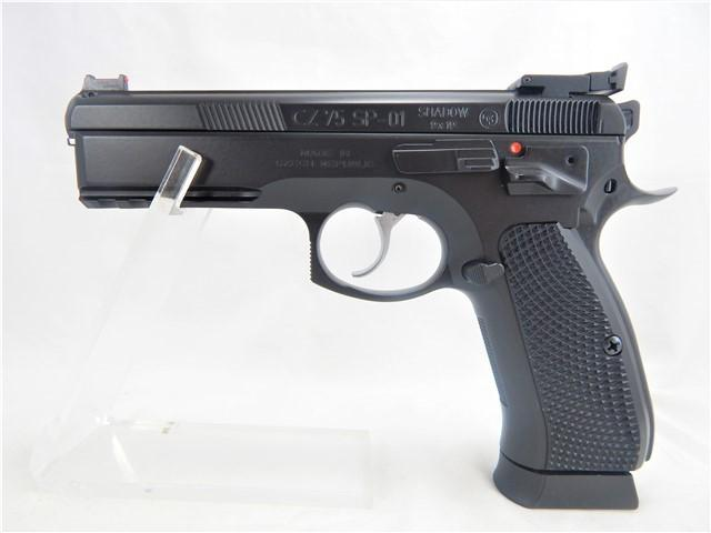 Cz/cz-usa Sp-01 Shadow Custom 9x19 4.5""