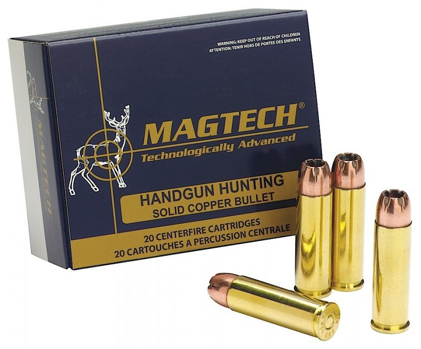 Magtech Sport Shooting 500 S&W Semi-jacketed