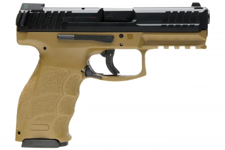 HK VP9 9mm 15rd FDE NS