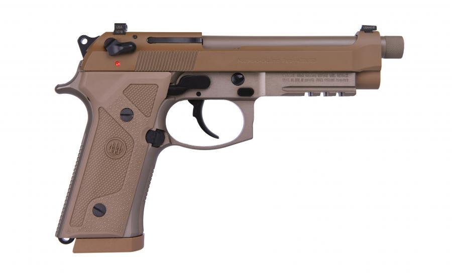 "Beretta M9a3 9mm 5.2"" 17rd"