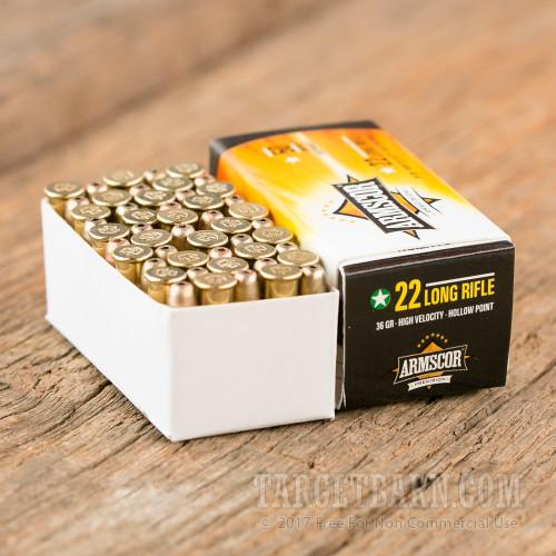 Armscor Rimfire Ammunition 50-pack
