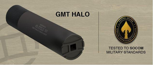 Gmt-halo 5.56 Silencer Ti