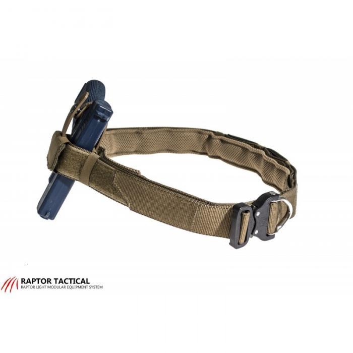 Raptor Tactical Retainer Belt Black Large