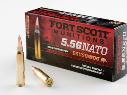 Fort Scott 5.56 62gr Brass Nato
