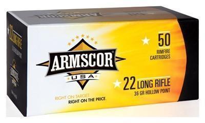 Armscor 22 LR Ammunition 36 Grain