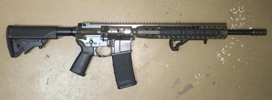 "IC DI Rifle, 300blk, 16""bbl"