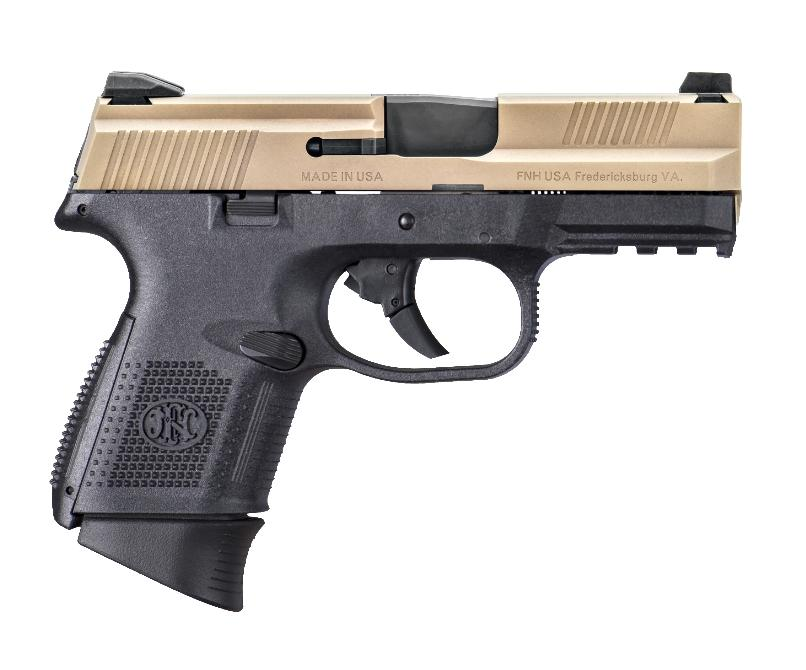 Fns-9c 9mm Blk/fde 12+1 Fs
