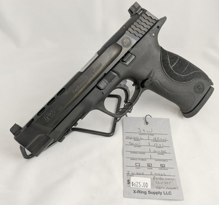 S&W M&p40l Performance Center (a-2893)